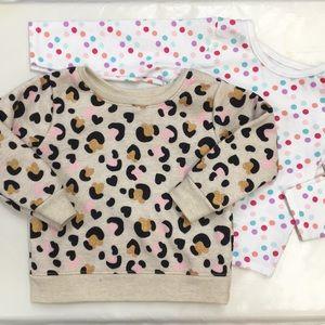 🔹NWOT! Set of 2 Long Sleeve Sparkle Sweater & Tee